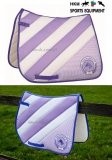 Pad HORSE&LIFESTYLE - HKM - lilac/white
