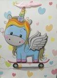 Torba Prezentowa Skate Unicorn