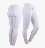 Bryczesy damskie - QHP - białe