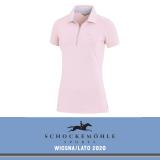 Koszulka polo FIONA SS20 - Schockemohle - dusty rose
