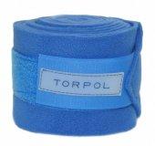 Bandaże polarowe CLASSIC - Torpol - chabrowy