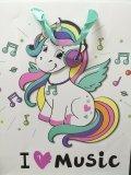 Torba Prezentowa Unicorn I Love Music