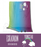 Derka polarowa JERSEY RAINBOW - YOUNGSTAR 2019/20 - Eskadron - rainbow