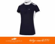 Koszulka konkursowa ALANNIS damska wiosna-lato 2019 - Schockemohle