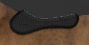 Podkładka pod siodło skokowe Correction System Standard podszyta futrem - Mattes