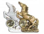 Figura konia z zegarem mała