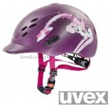 Kask UVEX model ONYXX PRINCESS - jagodowy