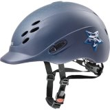 Kask UVEX model ONYXX GLAMOUR - blue matt
