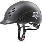 Kask UVEX model ONYXX GLAMOUR - black matt