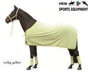 Derka polarowa SOFTICE - HKM - milky yellow