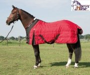 Derka stajenna HIGHLINER Jester Red 200g - Harry's Horse