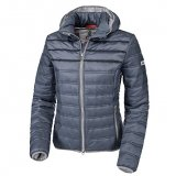 Kurtka softshell DOMENICA damska - Pikeur - smoked blue