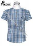Koszula konkursowa junior - PIKEUR - kratka