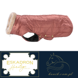 Derka dla psa Eskadron GLOSSY QUILTED Heritage 2019/20 - rosewood