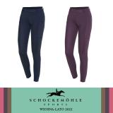 Legginsy jeździeckie damskie AIR POCKET RIDING TIGHTS wiosna-lato 2021 - Schockemohle