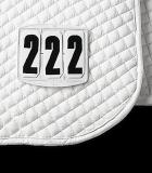 Numerek startowy na czaprak 3 cyfry - Waldhausen - kwadratowy
