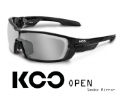 Okulary KOO Open - Smoke Mirror - black