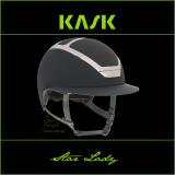 Kask Star Lady - KASK - antracytowy/srebrny - roz. 55-56