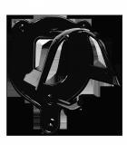 Wieszak na ogłowie metalowy ażurowy - WALDHAUSEN