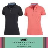 Koszulka polo damska FAYE STYLE wiosna-lato 2021 - Schockemohle