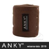 Bandaże polarowe kolekcja wiosna-lato 2019 - ANKY - tawny brown