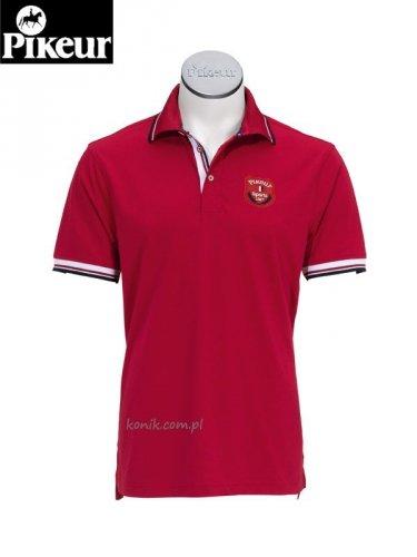 Koszulka Pikeur BASTIAN - red
