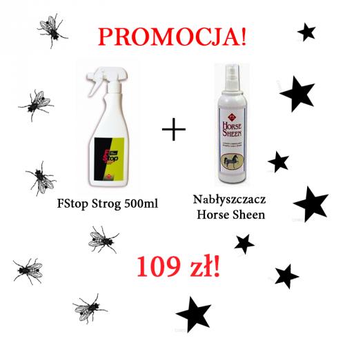 PROMOCJA! FStop Spray Strong 500 ml + Horse Sheen 200ml - FM ITALIA
