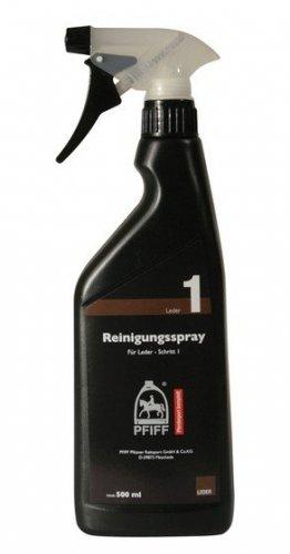 Spray czyszczący do skóry Pfiff Exclusive- krok 1
