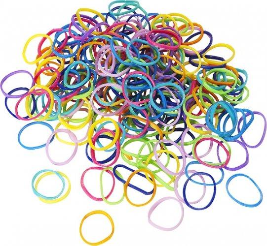 Kolorowe gumki do grzywy KIDS - EFFOL