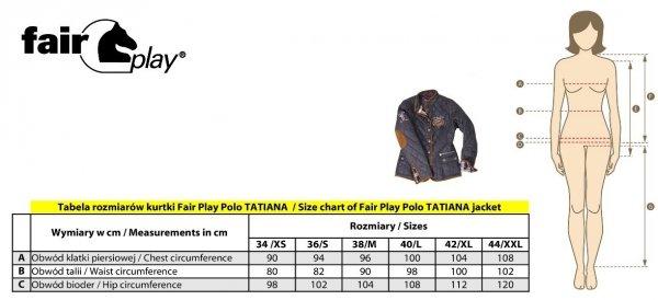 Kurtka TATIANA czarna - FAIR PLAY