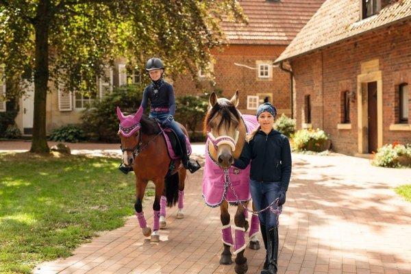 Derka polarowa STAMP ESKADRON YOUNG STAR 2018/19 - pink