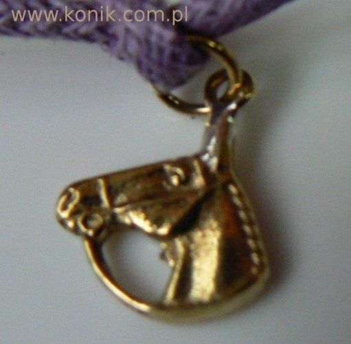 Bransoletka - głowa konia z wodzami
