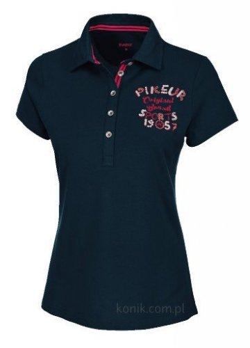 Koszulka polo damska Pikeur JOHANNA - navy