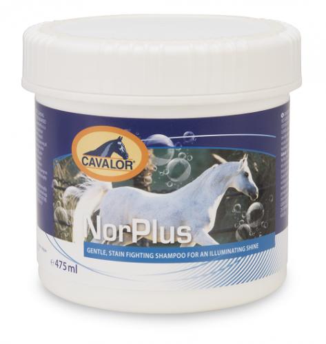 Szampon usuwający plamy NorPlus 475 ml - Cavalor