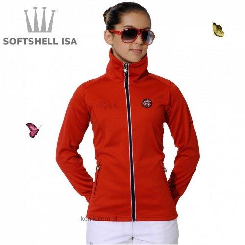 Bluza ISA softshell red - SPOOKS
