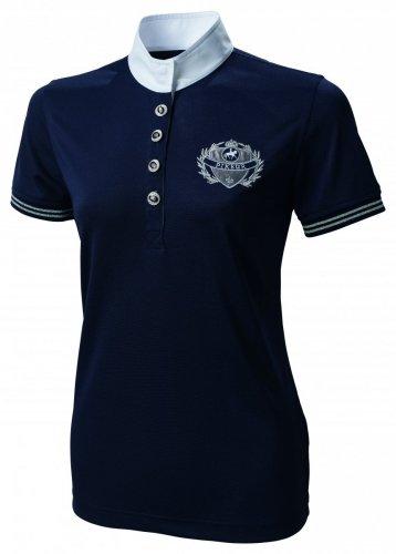 Koszulka konkursowa damska granat - PIKEUR
