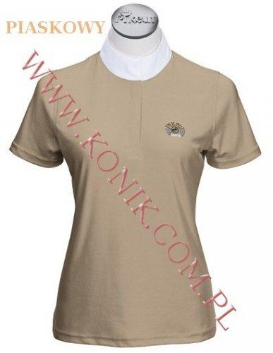 Koszula konkursowa elastyczna PIKEUR - piaskowy