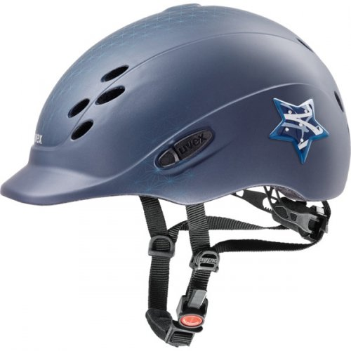 Kask UVEX model ONYX GLAMOUR - blue matt