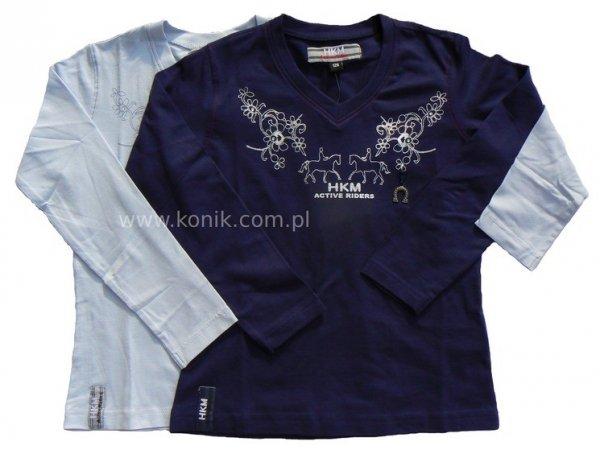 Bluzka -długi rękaw- HKM ACTIVE RIDERS- junior