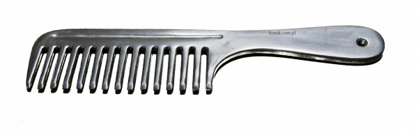 Grzebień do grzywy aluminiowy - API