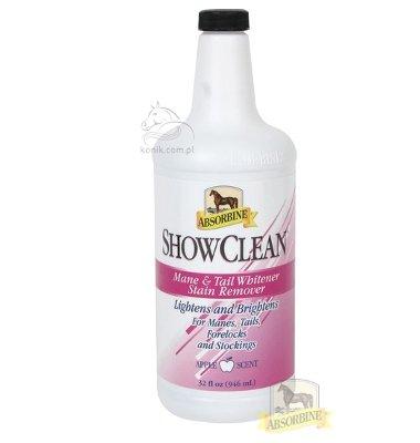 Preparat rozjaśniający do sierści ShowClean® Mane and Tail Whitener 946ml - Absorbine