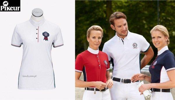 Koszula konkursowa PIKEUR z flo - biała