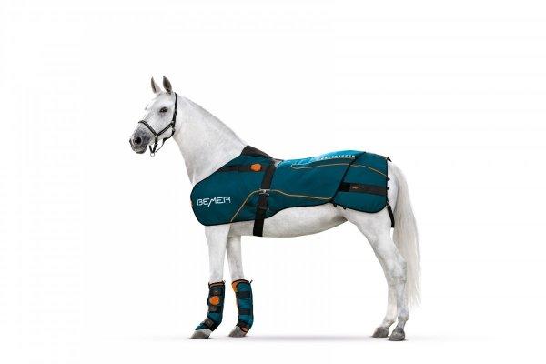 Zestaw terapeutyczny HORSE-SET derka + ochraniacze - BEMER