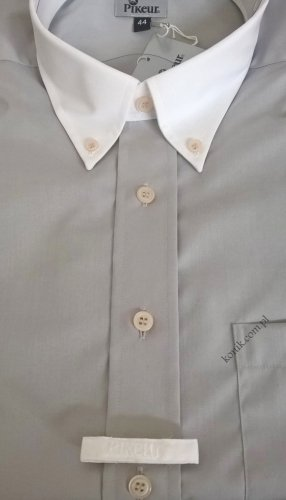 Koszula konkursowa męska na krótki rękaw - PIKEUR