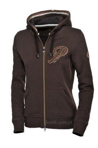 Bluza z kapturem Pikeur GESA - dark brown