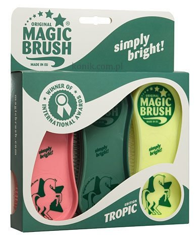 Zestaw szczotek MAGIC BRUSH Tropic