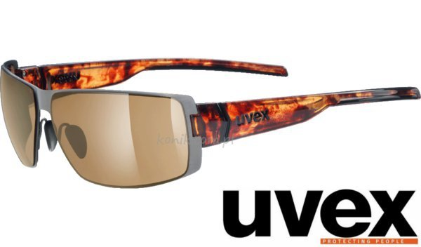 Okulary przeciwsłoneczne UVEX stick havana