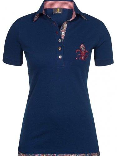 Damska koszulka polo SPORTY diva blue - FIOR DA LISO