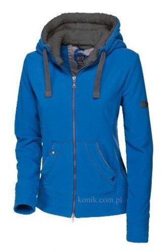 Bluza polarowa z kapturem Pikeur AVA - baltic blue