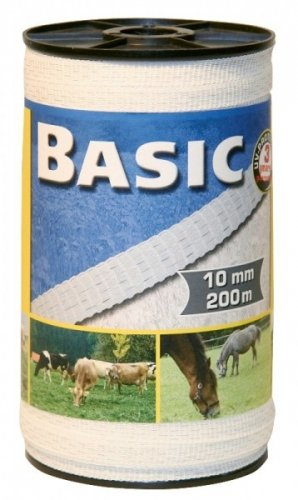 Taśma do ogrodzeń Corral BASIC 10mm - 200m